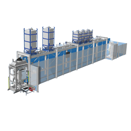 Image of Automatic IBC Filling