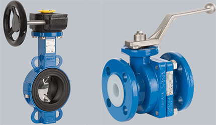 Image of Butterfly valves